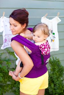 love the ergo carrier, well worth the money. Load up the baby, grab a beer and dance to some country music-this saved my sanity many times on those rough days before daddy came home.