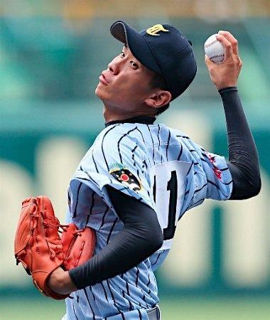 東海大相模先発の吉田=高校野球