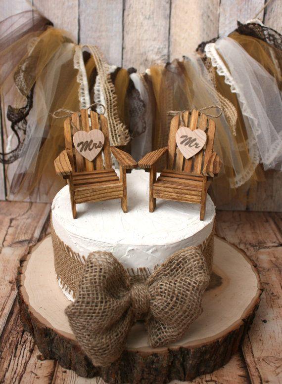 Adirondack beach wedding chairsminiature by MorganTheCreator, $35.00