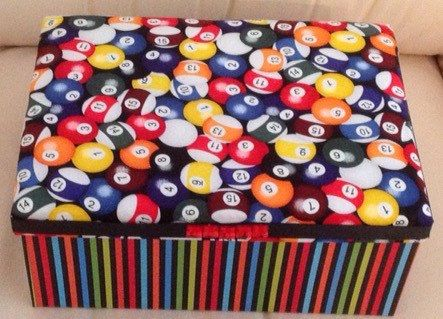 A personal favourite from my Etsy shop https://www.etsy.com/listing/238064065/bespoke-decorator-box-billiards