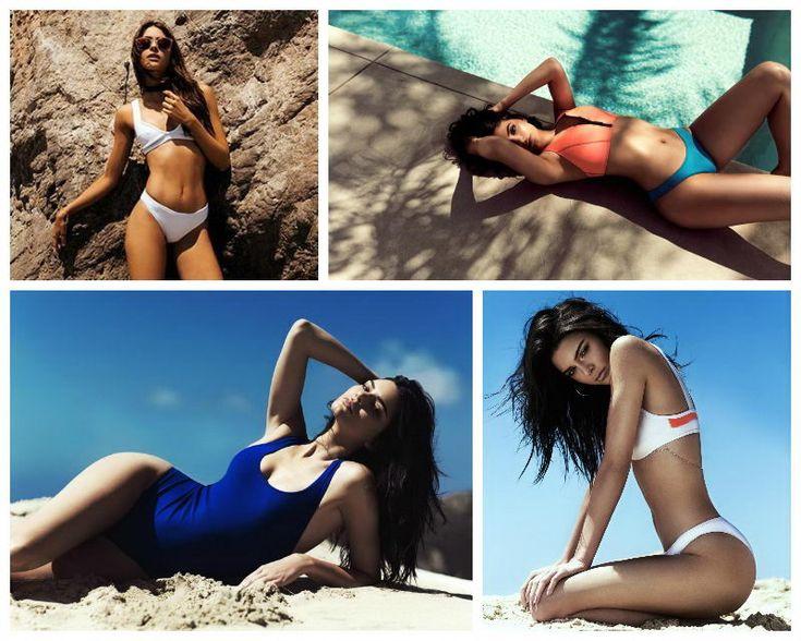 Супер красивые девушки в купальниках Topshop: Кендалл и Кайли Дженнер