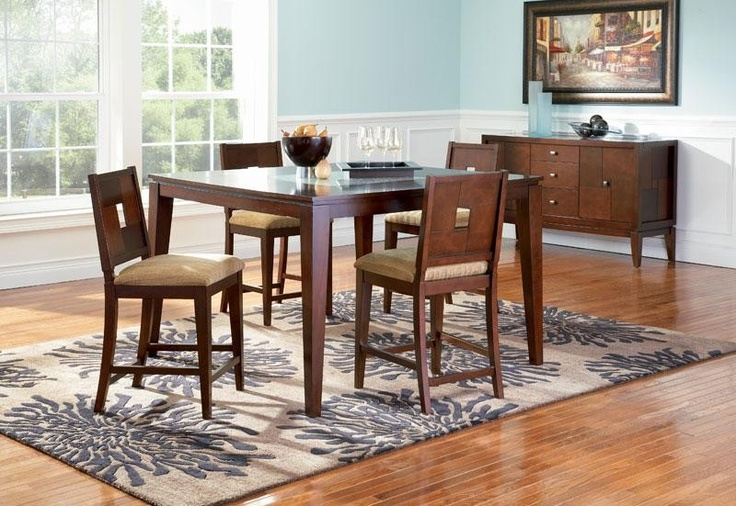 Coaster mia 5 pc dinette set server not available - Broken glass dining table ...