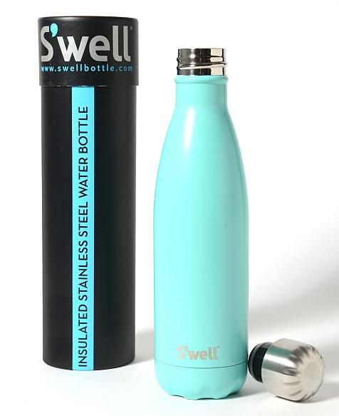 Swell Turquoise Blue 17 oz. Water Bottle | South Moon Under
