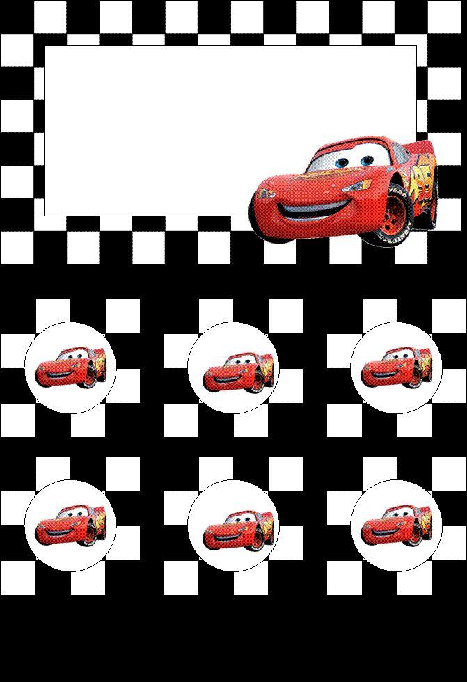 41 Best Disney S Cars Party Printables Images On Pinterest Diy