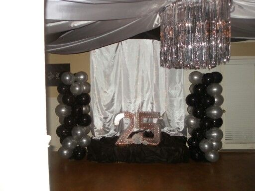 17 images about 25th anniversary ideas on pinterest for 25th wedding anniversary decoration