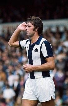 Geoff Hurst West Bromwich Albion 1975