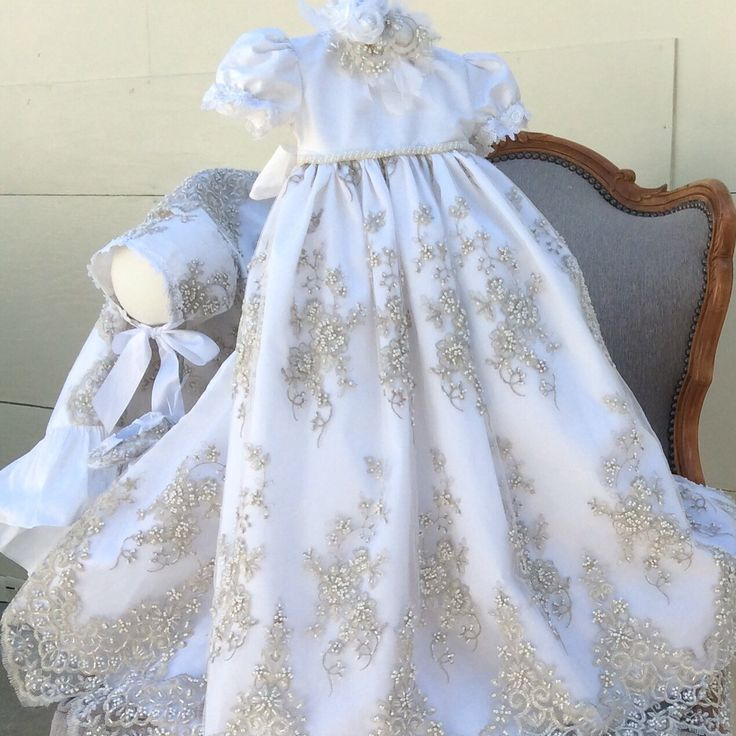 Christening Gowns From Wedding Dresses: 1000+ Images About Christening & Baptism On Pinterest