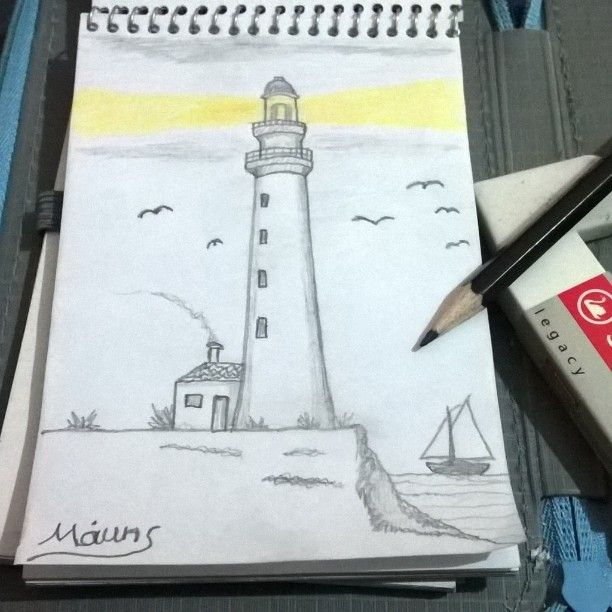 Best 25 Nautical Lighting Ideas On Pinterest: 25+ Best Ideas About Lighthouse Drawing On Pinterest