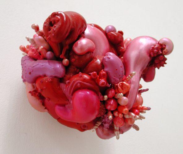Rote, 2005  PU-Schaum, verschiedene Materialien