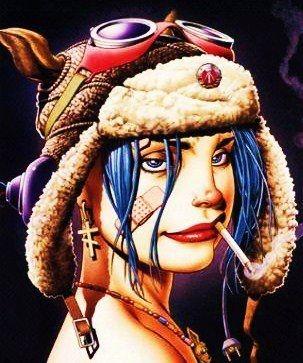 Les DIPLOMATES avouent avoir un méchant faible pour la riot grrrrl Tank Girl ! Avant de créer le visuel pour le band vitruel le plus populaire de l'histoire GORILLAZ (http://gorillaz.com/ ); les bédéistes Jamie Hewlett (dessins) et Alan Martin (scénario) avaient créés en 1988, la plus que volatille Tank Girl dans le style punk, féministe  anarchiste. Tank Grrrl rules   http://www.tank-girl.com/ http://www.tankgirl.info/tankgirl/index2.html http://en.wikipedia.org/wiki/Tank_Girl