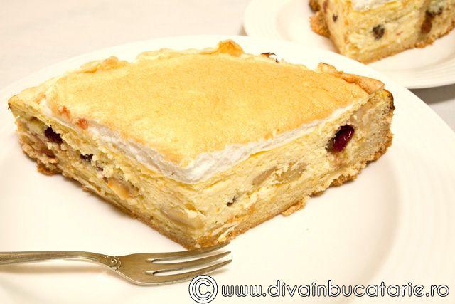 cheesecake-cu-mere-si-merisoare