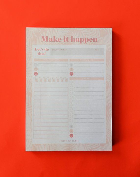 Daily Desk Planner Pad A5 Desk Notepad Daily Planner To Do List