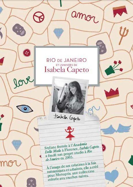 MONOPRIX     Brésil – Isabela Capeto  •  Ma Sérendipité