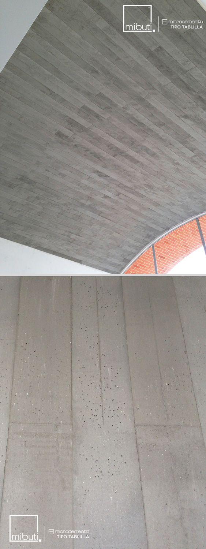 #MicroCemento tipo tablilla ideal para #bóvedas, #fachadas, #paredes, #techos. Económico, rápido y liviano.