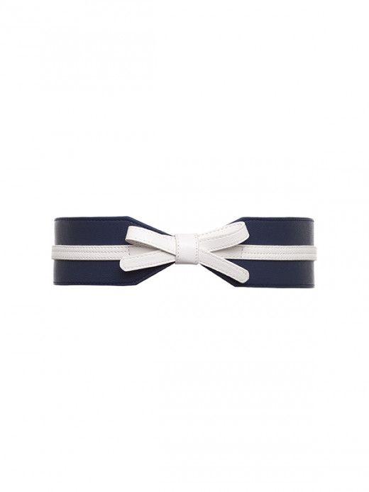 Phoenix Belt Navy/Cream M