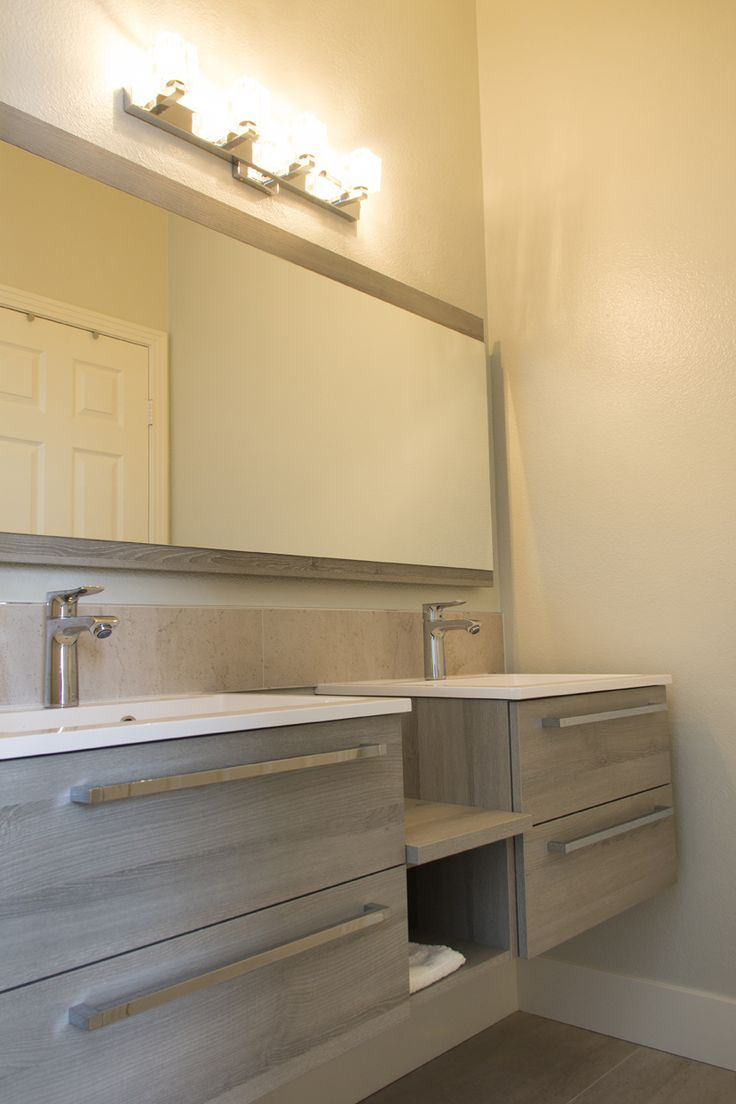 Amazing Simi Valley Project   Modern Bathroom Design   Badea   Germany Vanity Design