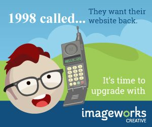 Display advertising created for ImageWorks Creative by ImageWorks Creative.
