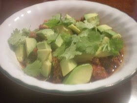 The Primal Home: Primal Dinner for Under $4 Bucks!- Meaty Chipotle Chili