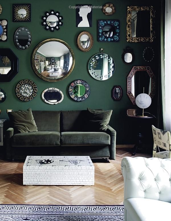 Decorate Fearlessly: Using Whimsy, Confidence, And A Dash Of Surprise To  Create Deeply Personal Spaces: Susanna Salk   Gallery Wall Of Mirrors