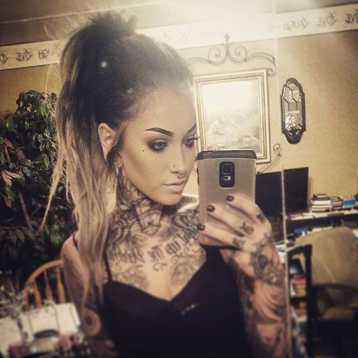 Most Beautiful Neck Tattoos: 25+ Best Ideas About Throat Tattoo On Pinterest