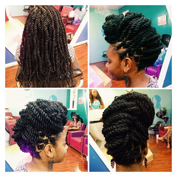 48 best senegalese twists images on pinterest hairstyles check out these simple havana twist styles you can try the next time you get this protective style pmusecretfo Choice Image