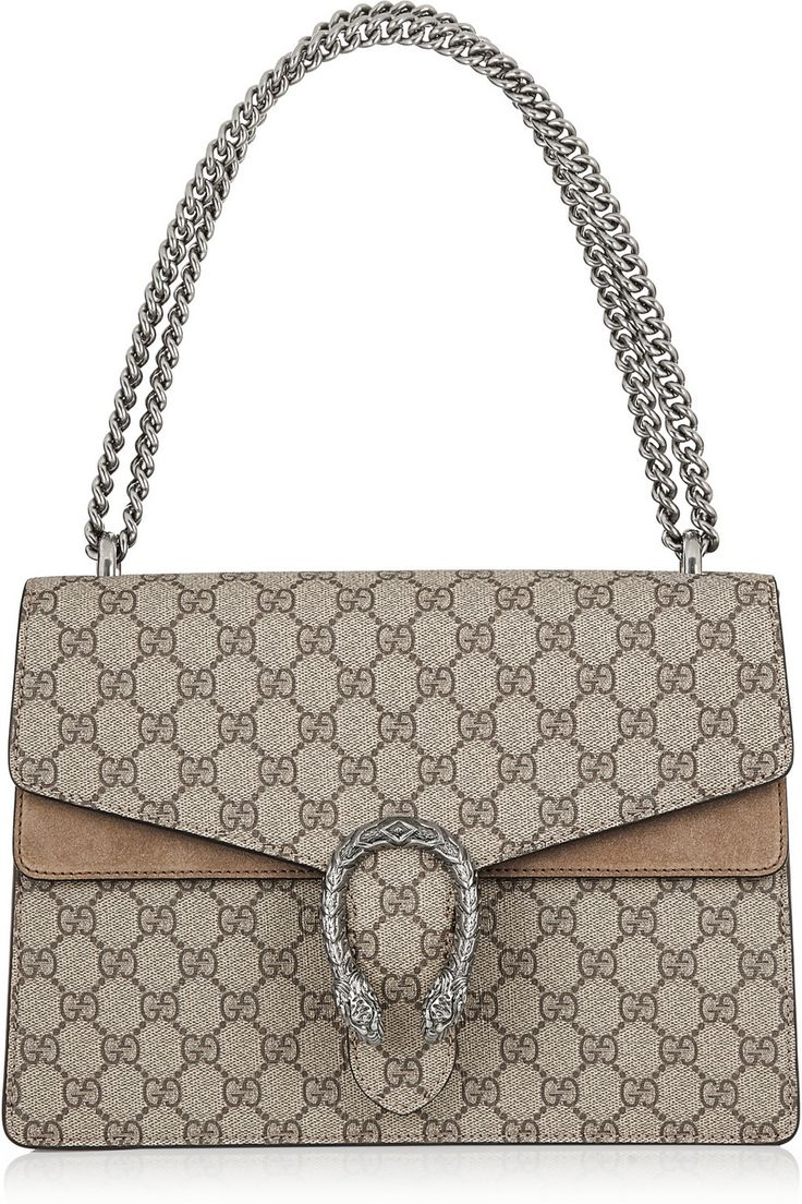 Gucci Dionysus in canvas with brown suede leather (the perfect beige/light brown bag that will last forever)