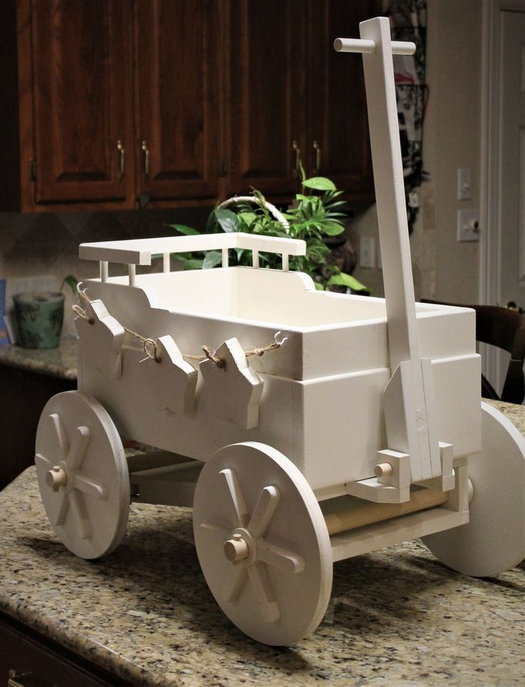 Wooden Baby Wagon For Wedding