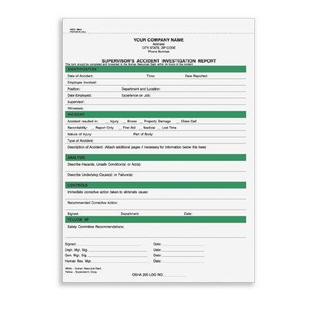 HRCC-369 Snap-A-Part Supervisor Accident Investigation Report