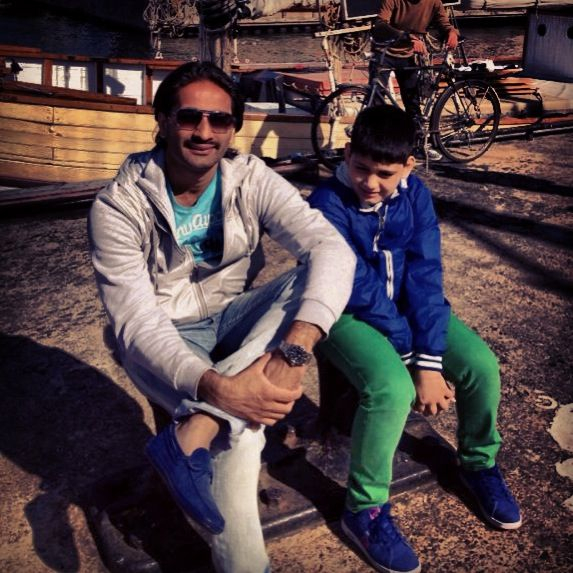 Nephew and I 'Stockholm 2013'