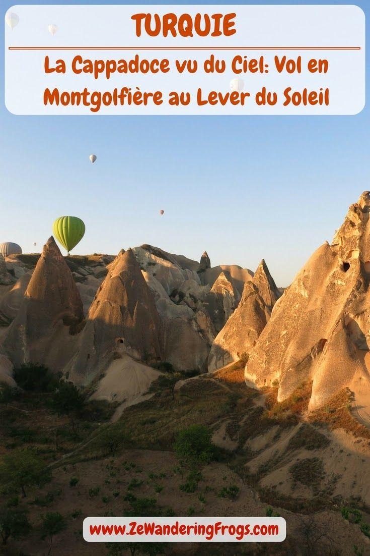 #Turquie // La #Cappadoce vu du ciel - Vol en #Montgolfiere au lever du soleil // #AdventureTravel Ze Wandering Frogs