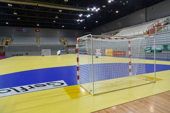 Varazdin Arena - Profesjonalne bramki do piłki ręcznej Sport Transfer