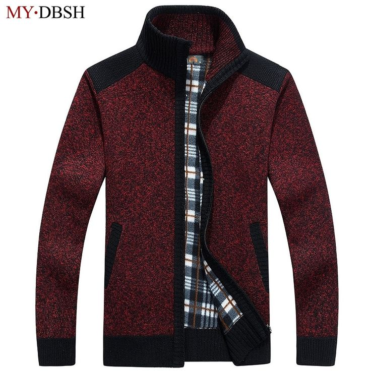 M/&S/&W Men Slim V-Neck Button Down Work Wear Cardigan Knitted Sweater