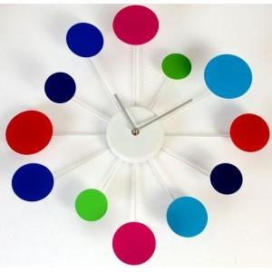 Reloj de pared Colores