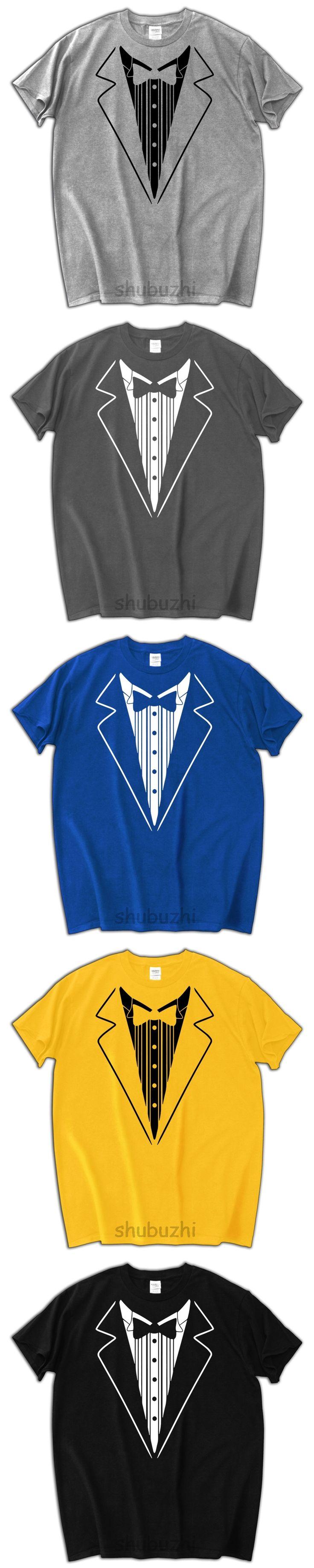 SMOKING TUXEDO SHIRT 2017 new men hip-hop cool tshirt fashion cotton tee shirt homme casual pattern man shirt for summer