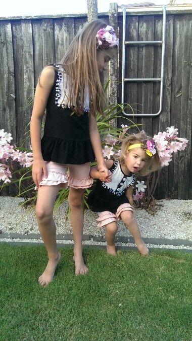 Pink ruffled shorties. Available at Rufflelicious.com.au