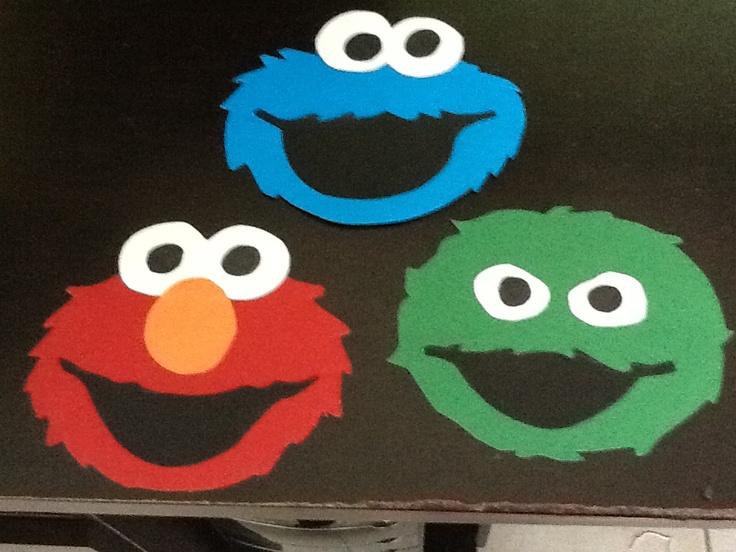 DIY Sesame Street Party Invitations
