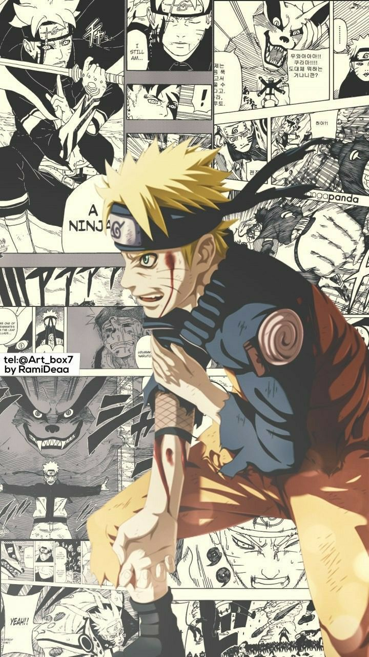 Naruto Manga With Images Naruto Wallpaper Naruto Art Naruto