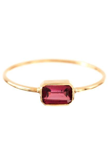 30 Dream Engagement Rings For The Anti-Diamond Girl #refinery29  http://www.refinery29.com/engagement-rings-diamond-alternatives#slide28