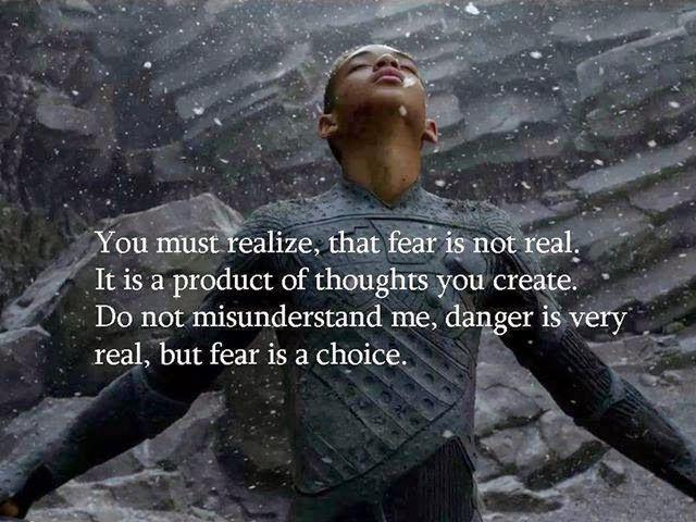 Dr Geoff Alley D.C: Fear