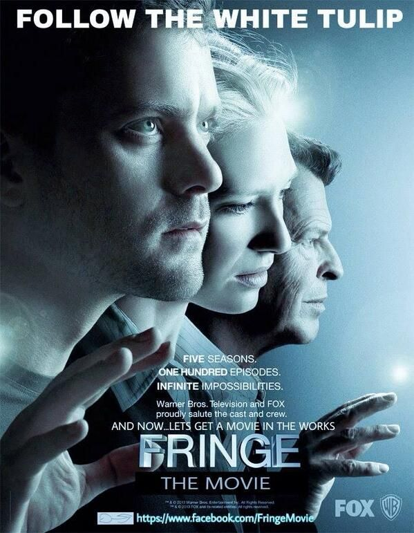 Attn #Fringe Fans: Movie Campaign is a go,spread the word! 10/9/2013