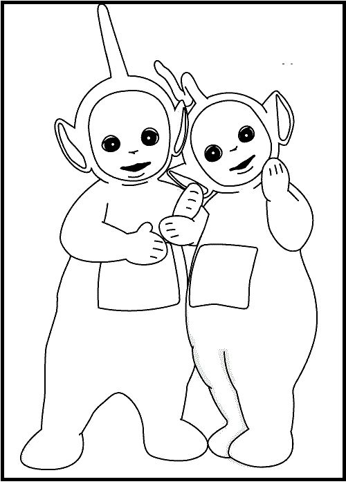 30 best teletubbies images on coloring