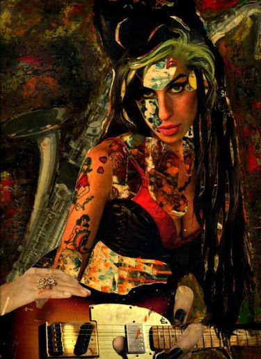 79-Tesoros del COLLAGE. Ami Winehouse.