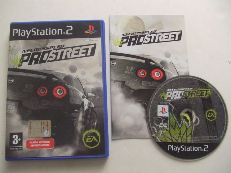 NEED FOR SPEED ProStreet - PS2 ps3 playstation - ITA - OTTIMO prima stampa