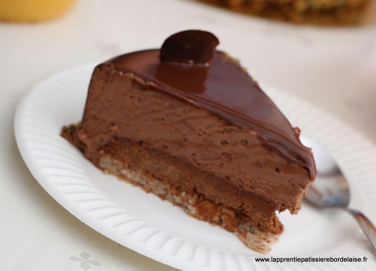 Entraînement CAP Pâtissier - Royal chocolat
