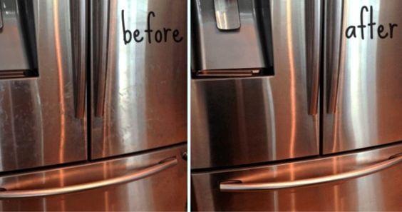 Comment nettoyer vos appareils en acier inoxydable et les rendre comme neufs