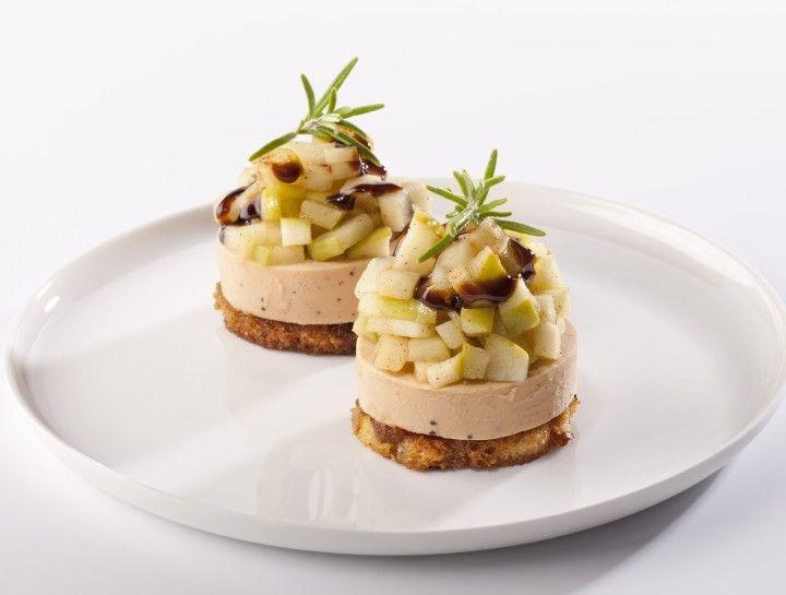Faux GRAS® De GAIA  Met appelen en balsamico-crème