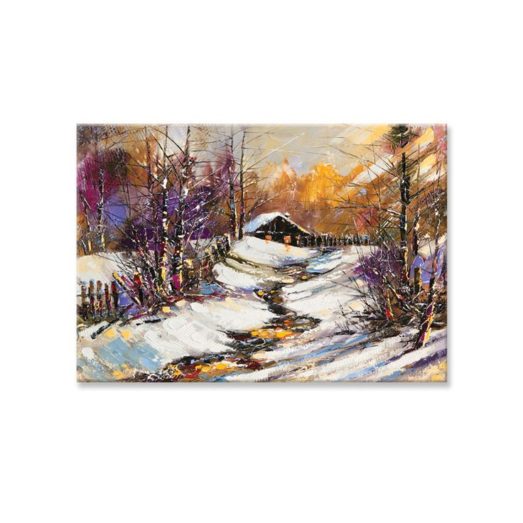 Canvas print CHRISTMAS VIEW by Sticky!!!
