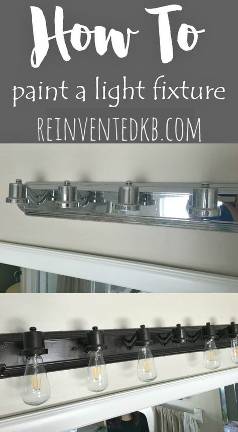 25 best ideas about paint light fixtures on pinterest - How to remove bathroom light fixture cover ...