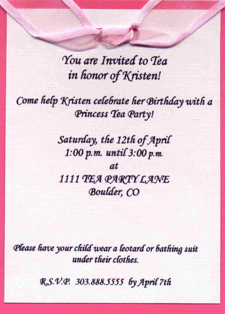 Best 25 Birthday party invitation wording ideas – Birthday Invitation Wording Ideas