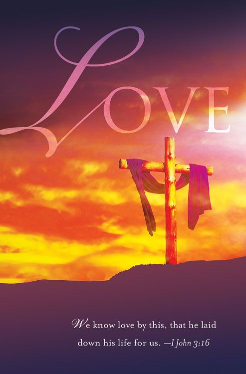 This is the Love of the Father for us, that He sent His Son to die for us, that we might live in Him!